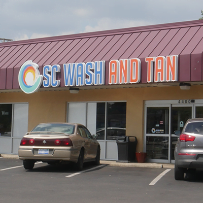 SC Wash and Tan Location